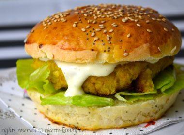Burger di ceci Bimby