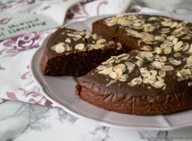 Torta al cioccolato vegana Bimby