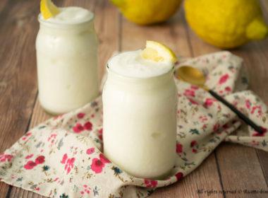 Sorbetto cremoso al limone Bimby