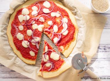 Pizza di quinoa Bimby