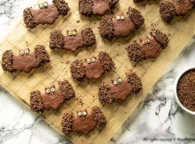 Biscotti a forma di pipistrello Bimby