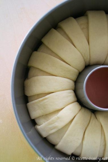 Corona di pane ripiena bimby