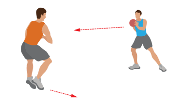 Side Shuffles with Medicine Ball