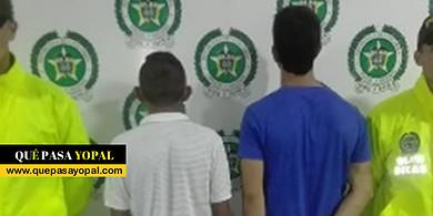 Photo of Capturan a sujetos dedicados al tráfico de estupefacientes en Yopal