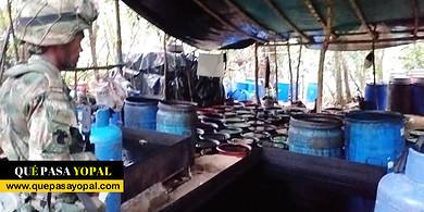Photo of Destruido laboratorio para el procesamiento de clorhidrato cocaína en Monterrey