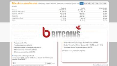 Canadian Bitcoins