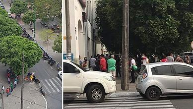 Photo of Yopaleños salen a las calles como si no hubiera cuarentena obligatoria