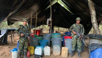 Photo of Laboratorio para procesar clorhidrato de coca fue destruido en el sur de Casanare