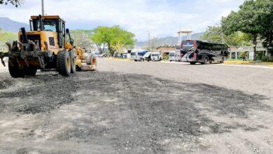 Photo of Mantenimiento en las vías internas del Terminal de Transporte de Yopal