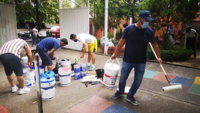 Photo of Programa 'Pinta tu escuela' llegó al colegio Braulio González sede Simón Bolívar