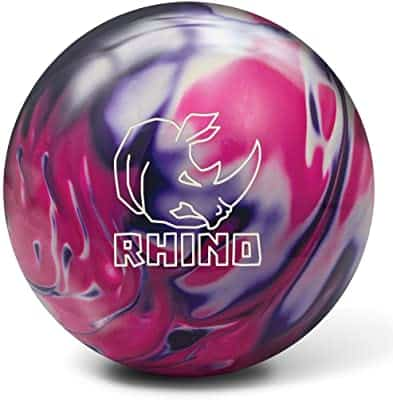 Brunswick Rhino bowling ball for hook