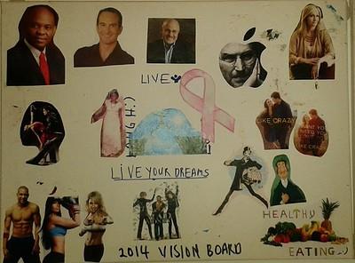 2014 vision board