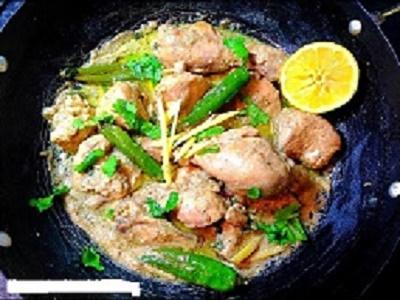 Chicken White Karahi Recipe
