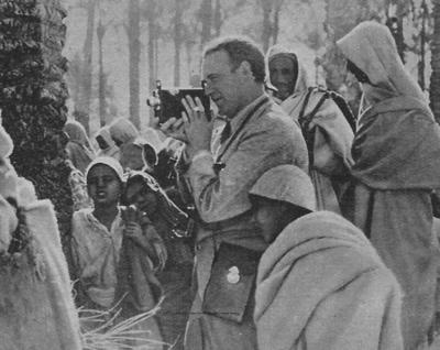 Willy Fritsch in Tripolis, Libyen, 1937