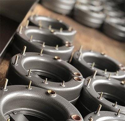 Ringkörper für Druckmessgeräte für kleine Drücke