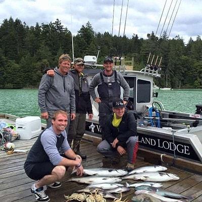 Vancouver Island Salmon Fishing Lodge