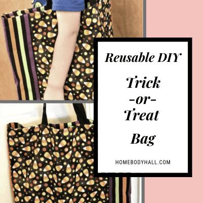 Reusable DIY Trick-or-Treat Bag