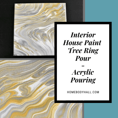 Interior House Paint Tree Ring Pour