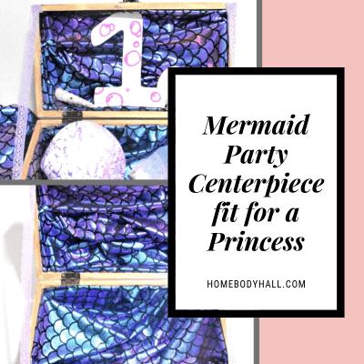 Mermaid Party Idea Centerpiece