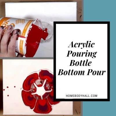 Acrylic Pouring Bottle Bottom Pour
