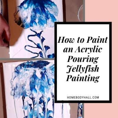 How to Paint an Acrylic Pouring Jellyfish Painting