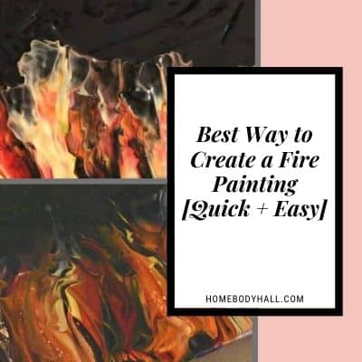 Best way to create a fire painting [quick + easy]