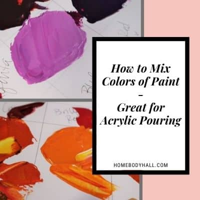 How to Mix Colors of Paint - Great for Acrylic Pouring