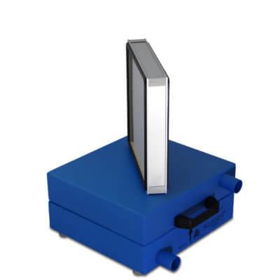 HEPA Filter Schalldaempfer Daemmschicht 001 400x400 - HEPA - Filter Box / Schalldämpfer für Seitenkanalverdichter 1,1 Kw