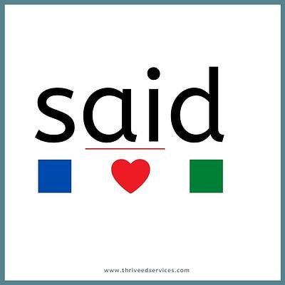 heart word method step 4 with word said