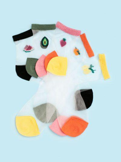 Calcetines de malla Silky Fruttis