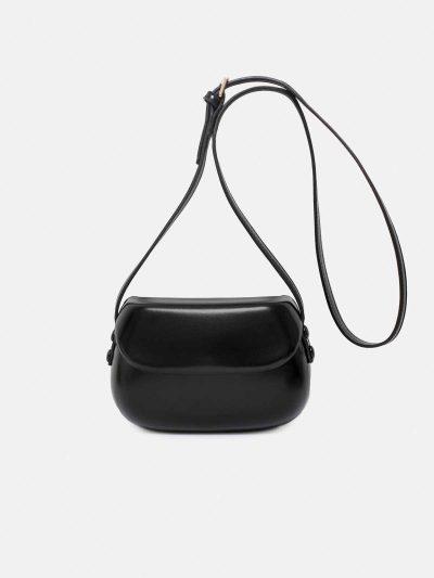 bolso shell negro