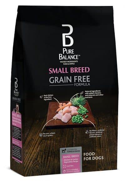 Pure Balance Grain-Free Small Breed Chicken & Garden