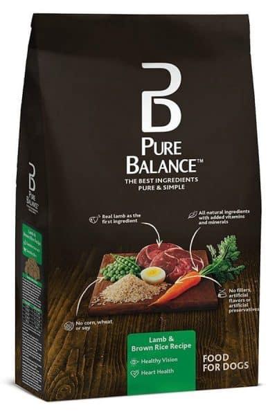 Pure Balance Dog Food, Lamb & Brown Rice Recipe
