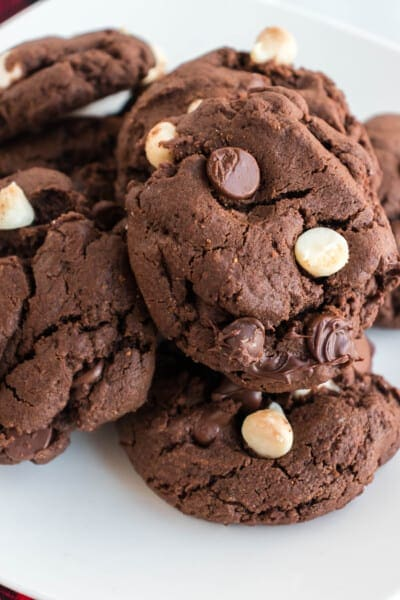 Triple Chocolate Cookies