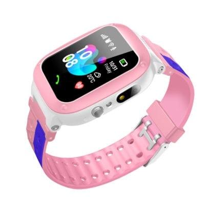 smartwatch F18 różowy Gps dla dziewczynki