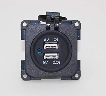 CBE Electrical Modular 12v Double USB Socket