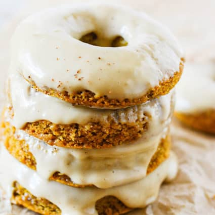 Gluten-Free Vegan Pumpkin Donuts
