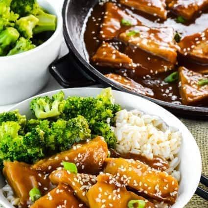 Teriyaki Tofu (Vegan, Gluten Free)