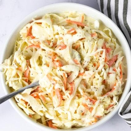Vegan Southern-Style Coleslaw