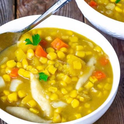 Corn Soup Recipe Caribbean-Style