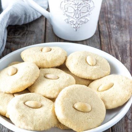 Vegan Gluten-Free Chinese Almond Cookies