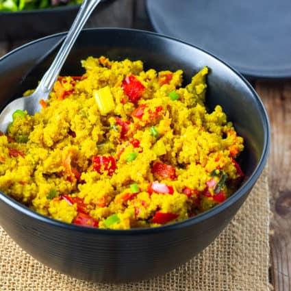 Cauliflower Rice Curry