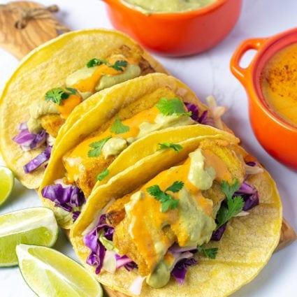 Vegan Fish Tacos