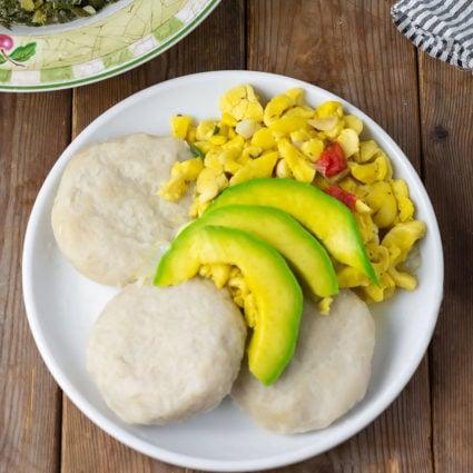 Cassava Dumplings