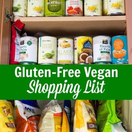 Gluten-Free Vegan Shopping List