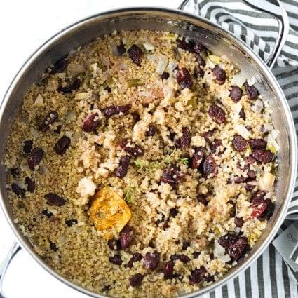 Jamaican Quinoa And Peas