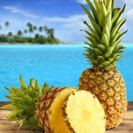 Ripe Pineapple