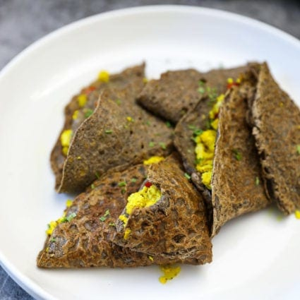 Savory Buckwheat Crepes