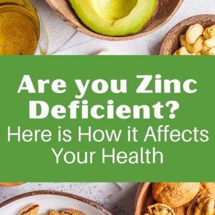 Are you Zinc Deficient?