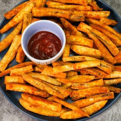 Cajun Plantain Fries